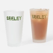 Seeley, Vintage Camo, Drinking Glass