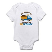 Dump truck Big Brother To Be Onesie