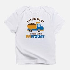 Dump truck Big Brother To Be Infant T-Shirt