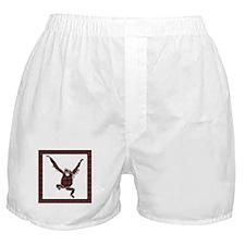Plaid Orangutan Boxer Shorts