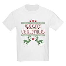 Cross Stitch Christmas T-Shirt