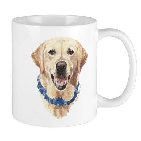 Shelby Yellow Lab Coffee Mug