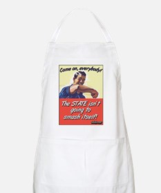 Smash Itself? BBQ Apron