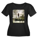 Walking Dead Prison Women's Plus Size T-Shirt