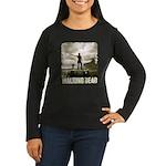 Walking Dead Prison Women's Long Sleeve T-Shirt