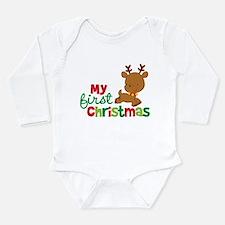 Santa Reindeer Babies 1st Christmas Baby Outfits