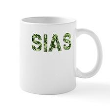 Sias, Vintage Camo, Small Mug