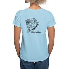 Fishing Bad Bass Women's Light T-Shirt