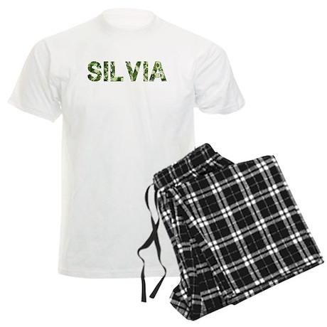 Silvia, Vintage Camo, Men's Light Pajamas