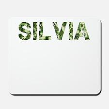 Silvia, Vintage Camo, Mousepad
