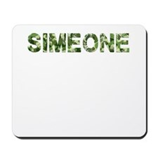 Simeone, Vintage Camo, Mousepad