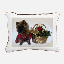 Cairn Terrier Rectangular Canvas Pillow
