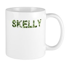 Skelly, Vintage Camo, Small Mug
