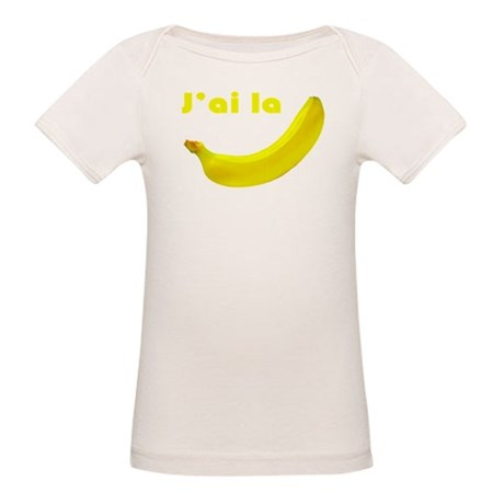 banane Organic Baby T-Shirt