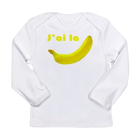 banane Long Sleeve Infant T-Shirt