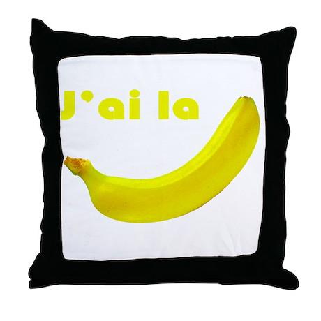 banane Throw Pillow
