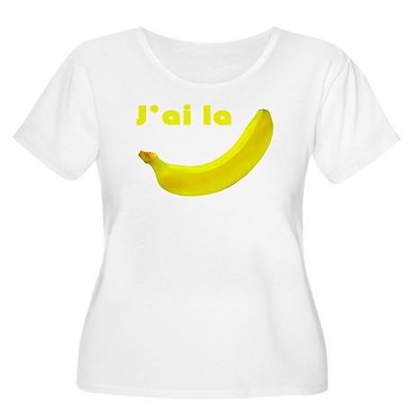 banane Women's Plus Size Scoop Neck T-Shirt