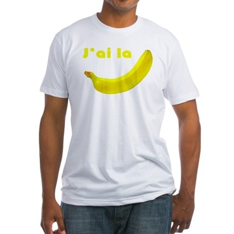 banane Fitted T-Shirt