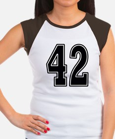 Forty-two Women's Cap Sleeve T-Shirt