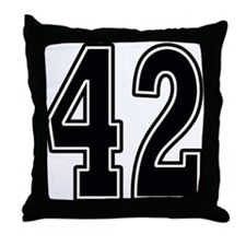Forty-two Throw Pillow