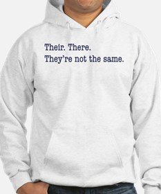 Their. There. They are. Hoodie