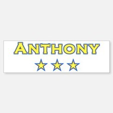 Anthony Bumper Bumper Bumper Sticker