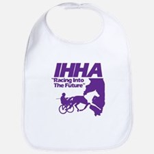 IHHA Purple Logo Bib