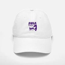 IHHA Purple Logo Baseball Baseball Cap