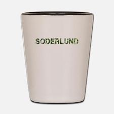 Soderlund, Vintage Camo, Shot Glass