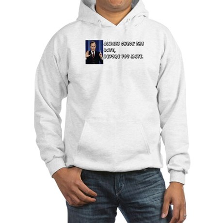Check The Date Anti-Bush Hooded Sweatshirt