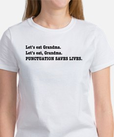 Punctuation Saves Lives Tee