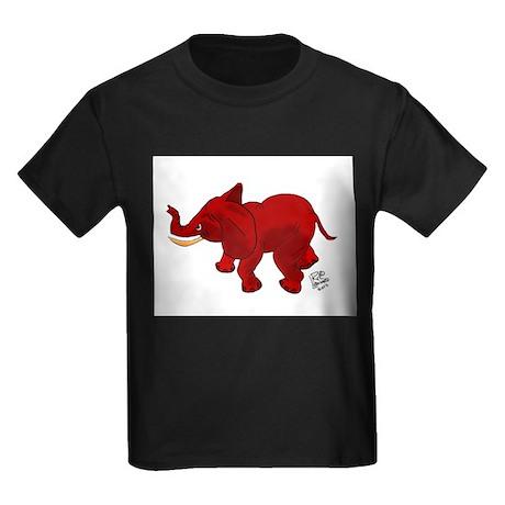 Red Elephant Kids Dark T-Shirt