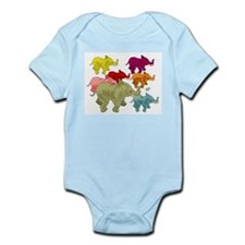 Elephant Herd Infant Bodysuit