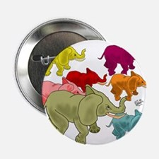 "Elephant Herd 2.25"" Button"