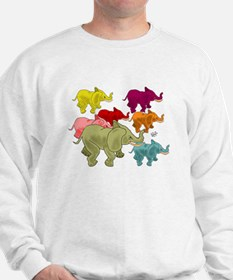 Elephant Herd Sweatshirt