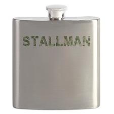 Stallman, Vintage Camo, Flask