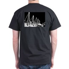 The Pipeline in Black T-Shirt