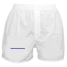 Thin Blue Line Boxer Shorts