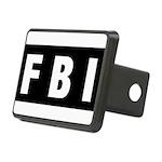 FBI 1 Rectangular Hitch Cover