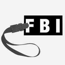 FBI 1 Luggage Tag