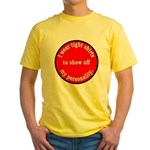 Personality Yellow T-Shirt