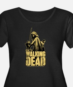 Zombie Killer Michonne Women's Plus Size T-Shirt