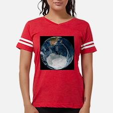 Antarctic ice sheet maximum, Womens Football Shirt