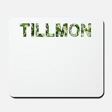 Tillmon, Vintage Camo, Mousepad
