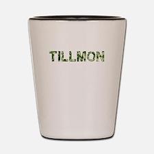 Tillmon, Vintage Camo, Shot Glass