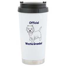 Westie Grandad Travel Mug