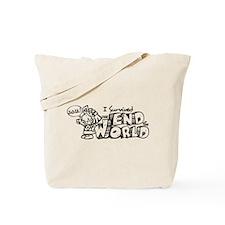 SurviedMayan2012-Dark Tote Bag