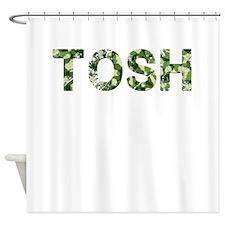 Tosh, Vintage Camo, Shower Curtain