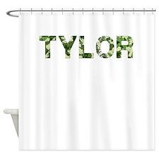 Tylor, Vintage Camo, Shower Curtain