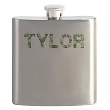 Tylor, Vintage Camo, Flask